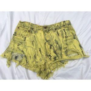 Used Levi shorts, size 33